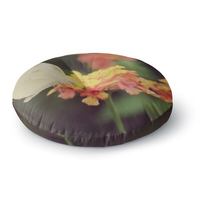 Robin Dickinson Captivating Flower Round Floor Pillow Size: 26 x 26