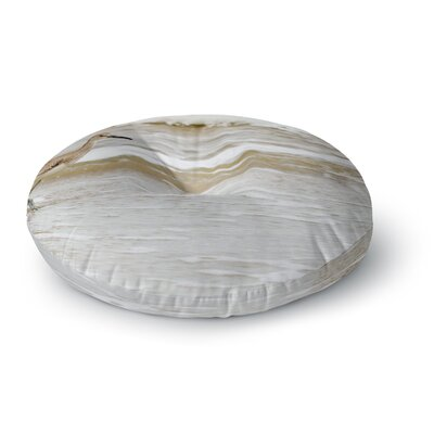 Robin Dickinson Counting the Waves Round Floor Pillow Size: 26 x 26