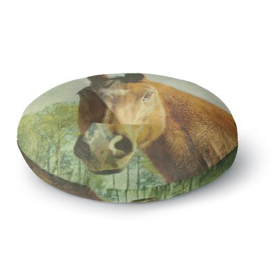 Robin Dickinson CT Round Floor Pillow Size: 26 x 26