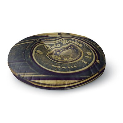 Robin Dickinson Discarded Treasure Vintage Camera Round Floor Pillow Size: 23 x 23