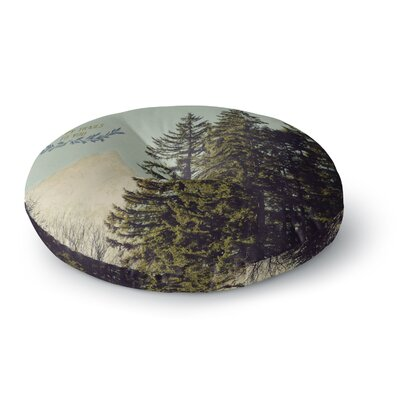 Robin Dickinson Happy Trails Round Floor Pillow Size: 26 x 26