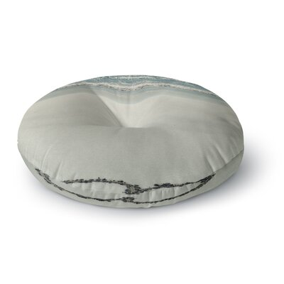 Robin Dickinson I Love the Beach Ocean Sand Round Floor Pillow Size: 26 x 26