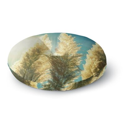 Robin Dickinson Ornamental Grass Round Floor Pillow Size: 23 x 23