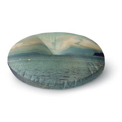 Robin Dickinson Must Sea Ocean Round Floor Pillow Size: 23 x 23