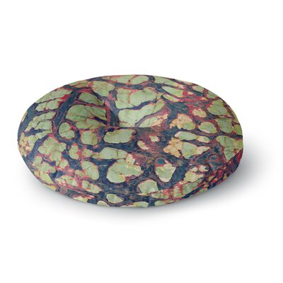 Robin Dickinson Pretty Patina Bark Round Floor Pillow Size: 23 x 23