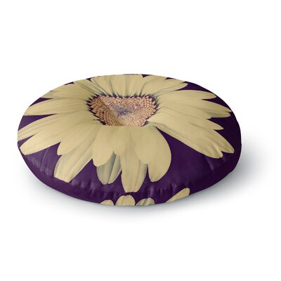 Robin Dickinson Half Crazy Round Floor Pillow Size: 26 x 26