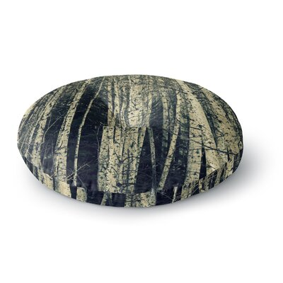 Robin Dickinson Birch Round Floor Pillow Size: 26 x 26