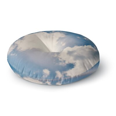Robin Dickinson 'Halo' Round Floor Pillow Size: 23