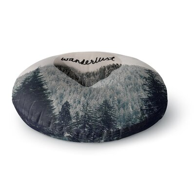 Robin Dickinson Wanderlust Round Floor Pillow Size: 23 x 23