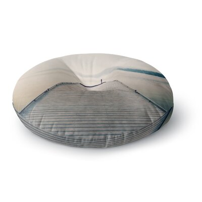Robin Dickinson Tranquility Round Floor Pillow Size: 23 x 23