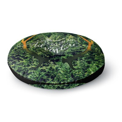 Robin Dickinson Adventure Photography Round Floor Pillow Size: 26 x 26