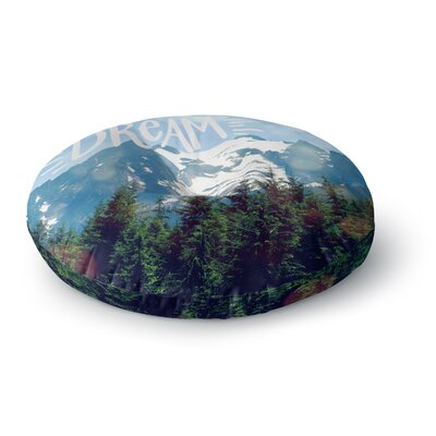 Robin Dickinson The Dream Photography Round Floor Pillow Size: 23 x 23