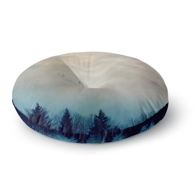 Robin Dickinson Peek-a-boo Trees Photography Round Floor Pillow Size: 26 x 26