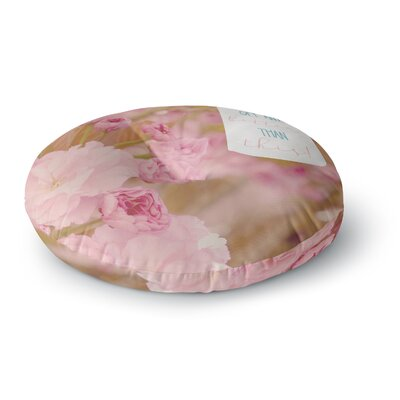 Robin Dickinson It Doesnt Get Any Better Photography Round Floor Pillow Size: 26 x 26
