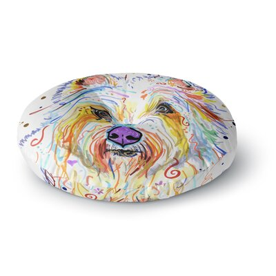 Rebecca Fischer 'Bella' Scottish Terrier Round Floor Pillow Size: 23