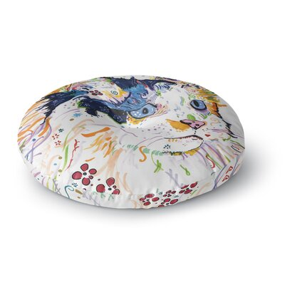 Rebecca Fischer Sophia Round Floor Pillow Size: 23 x 23