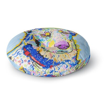 Rebecca Fischer Becca Rainbow Round Floor Pillow Size: 26 x 26