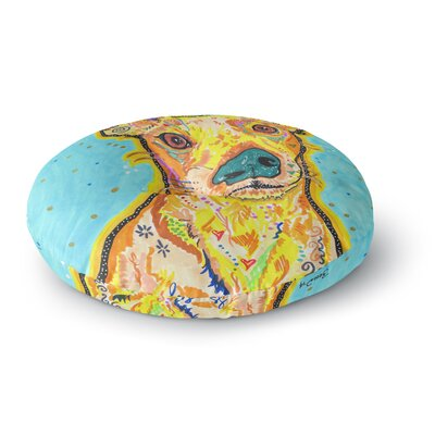 Rebecca Fischer Tanner Terrier Round Floor Pillow Size: 26 x 26