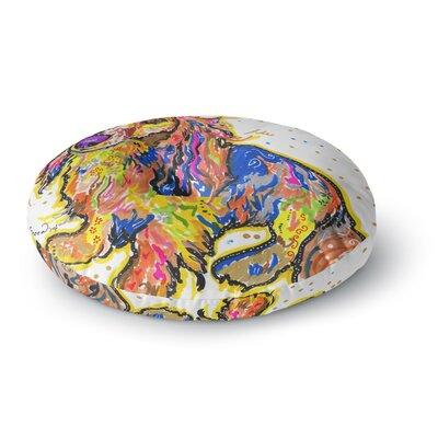 Rebecca Fischer Leela Daschund Round Floor Pillow Size: 26 x 26