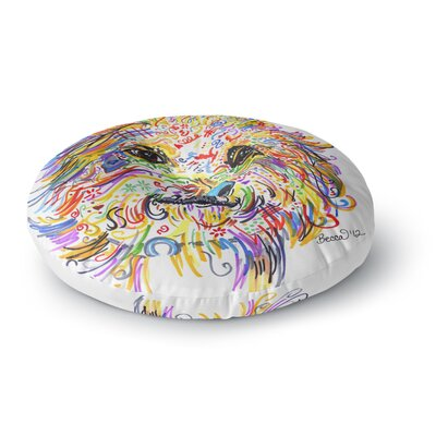 Rebecca Fischer Beepster Mixed Media Animals Round Floor Pillow Size: 23 x 23