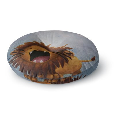 Rachel Kokko Dandy Lion Round Floor Pillow Size: 26 x 26