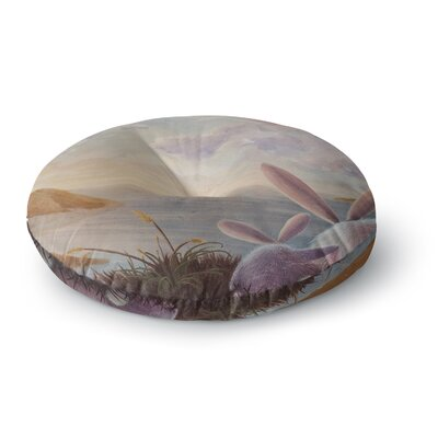 Rachel Kokko A New Perspective Round Floor Pillow Size: 23 x 23
