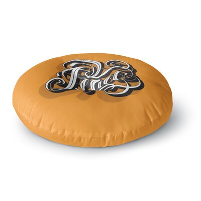 Roberlan Peace Round Floor Pillow Size: 26 x 26