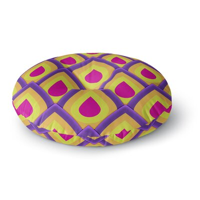 Roberlan Pineapple Round Floor Pillow Size: 26 x 26