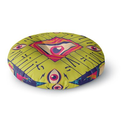 Roberlan Blood Sweat Tears and Soul Square Round Floor Pillow Size: 26 x 26