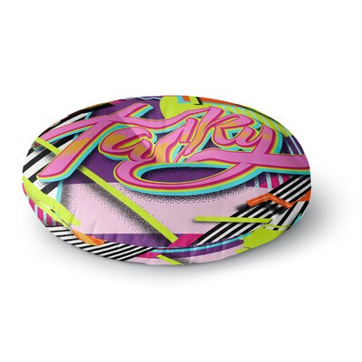 Roberlan Tacky Round Floor Pillow Size: 23 x 23