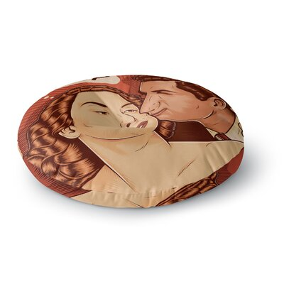 Roberlan Yo Sup Pop Art Round Floor Pillow Size: 26 x 26