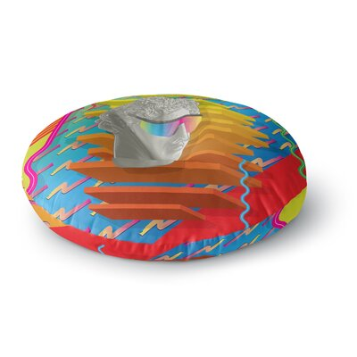 Roberlan Super Tacky System III Round Floor Pillow Size: 26 x 26