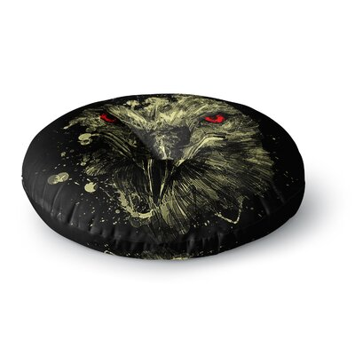 BarmalisiRTB Eagle Round Floor Pillow Size: 26 x 26