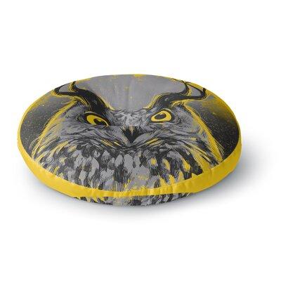 BarmalisiRTB Majesty Owl Round Floor Pillow Size: 26 x 26