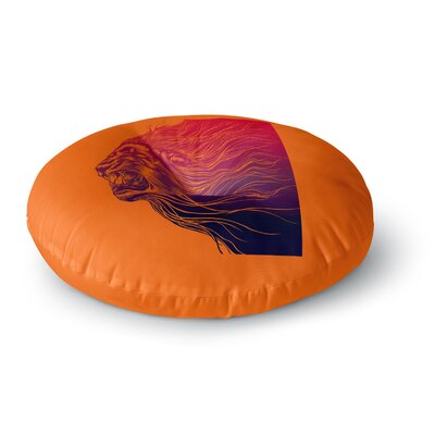 BarmalisiRTB Furious+ Animals Round Floor Pillow Size: 26 x 26