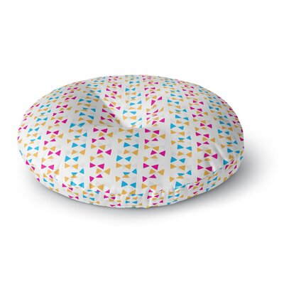 Apple Kaur Designs Lets Celebrate Round Floor Pillow Size: 23 x 23