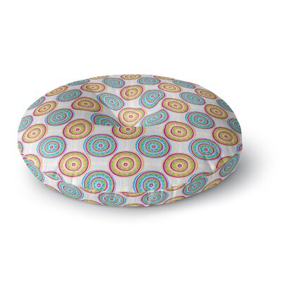 Apple Kaur Designs Bombay Dreams Round Floor Pillow Size: 23 x 23