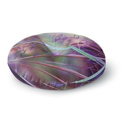 Sylvia Cook Pretty Grasses Round Floor Pillow Size: 26 x 26