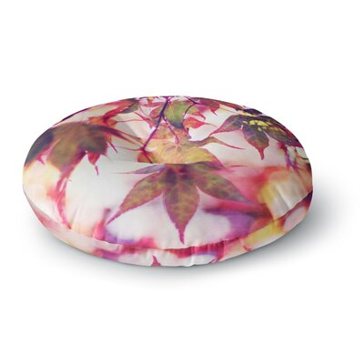 Sylvia Cook On Fire Round Floor Pillow Size: 23 x 23