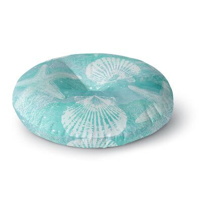 Sylvia Cook Seaside Round Floor Pillow Size: 23 x 23