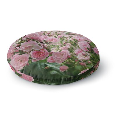 Sylvia Cook The Fairy Rose Floral Round Floor Pillow Size: 26 x 26