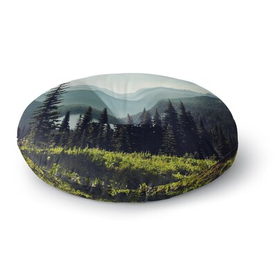 Sylvia Cook Discover Your Northwest Landscape Round Floor Pillow Size: 23 x 23