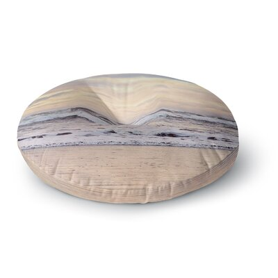 Sylvia Cook Ocean Sunset Photography Round Floor Pillow Size: 26 x 26
