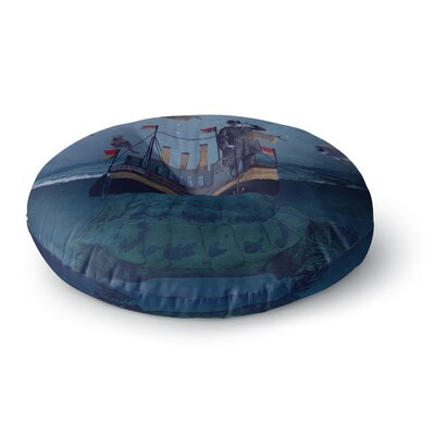Suzanne Carter The Voyage Round Floor Pillow Size: 23 x 23