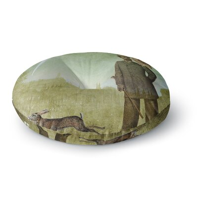Suzanne Carter One Starry Night  Round Floor Pillow Size: 23 x 23
