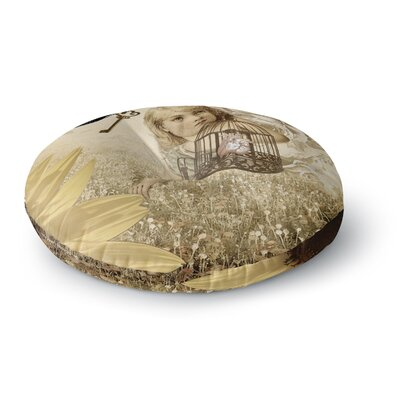 Suzanne Carter Key Round Floor Pillow Size: 23 x 23