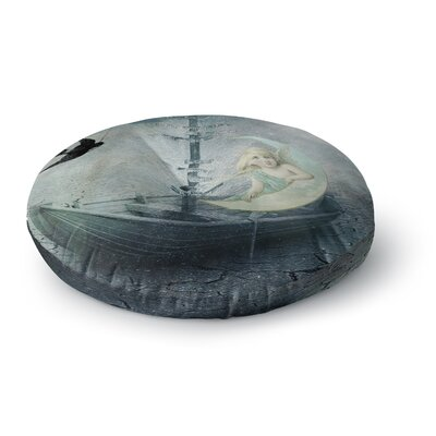Suzanne Carter Rain Round Floor Pillow Size: 23 x 23