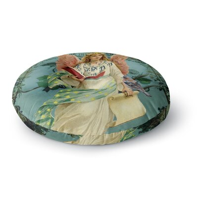 Suzanne Carter The Delivery Round Floor Pillow Size: 23 x 23