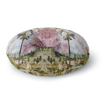 Suzanne Carter The Magnolia Trees Round Floor Pillow Size: 23 x 23