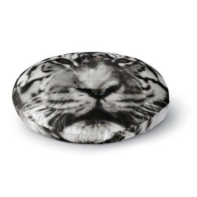 Suzanne Carter Tiger Face Animal Round Floor Pillow Size: 26 x 26